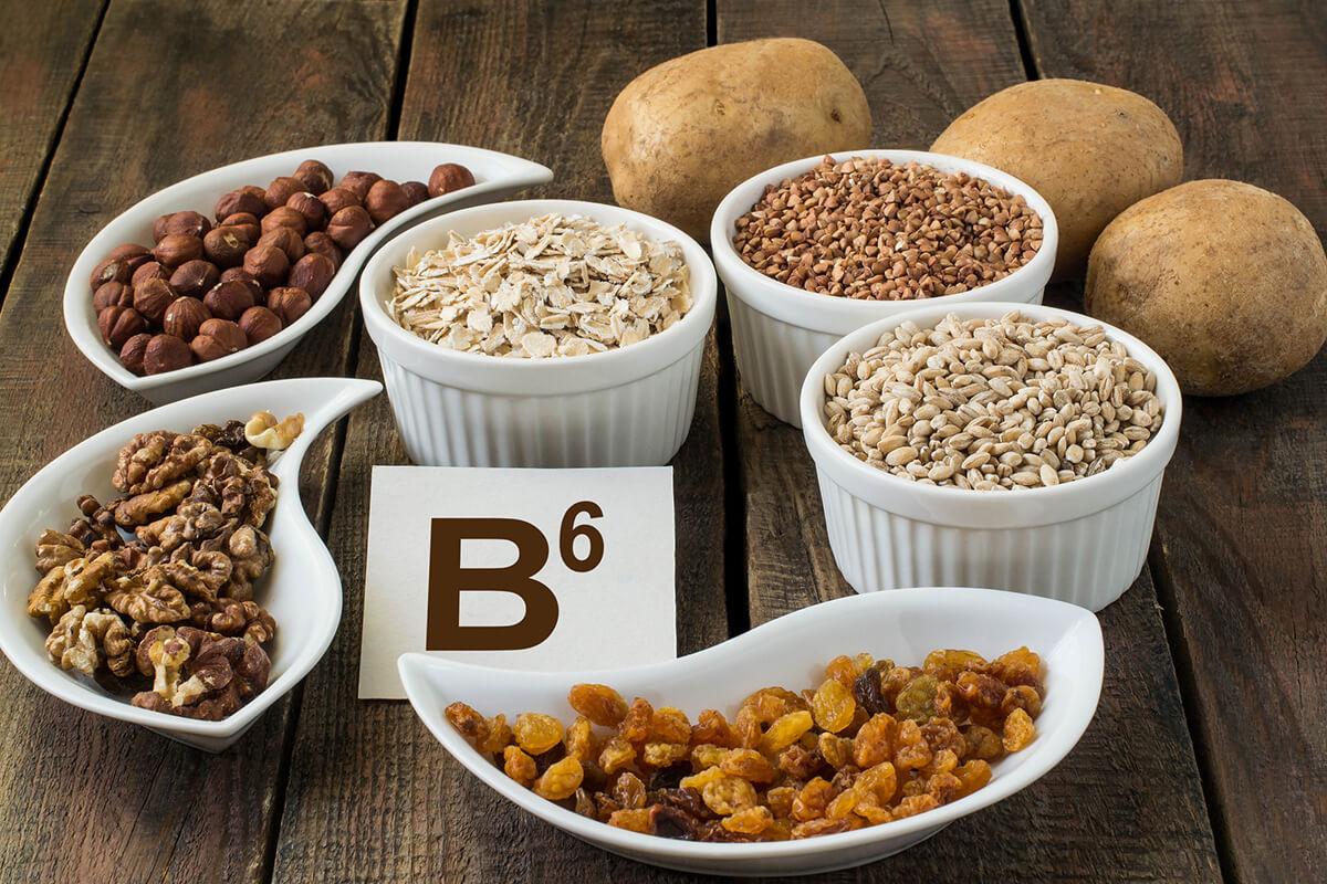Продукты с витамином B6